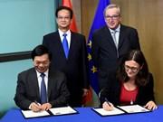 《越南与欧盟自贸协定》谈判进程全面结束