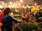 广霸花卉夜市——河内市的独特集市