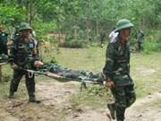 越中两国分享参加联合国维和行动的二级野战医院组建工作经验