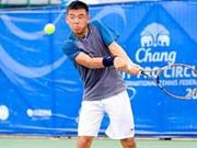 柬埔寨网球F2未来赛:黎黄南挺进半决赛