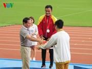 第八届东南亚残运会:越南体育代表队在排行榜上跃居第三