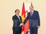 越南政府副总理黄忠海对斯洛伐克进行正式访问
