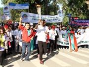 """""""为河内儿童跑步活动""""吸引数千人前来参加"""