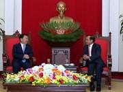 越共中央政治局委员范光毅会见中国共产党代表团