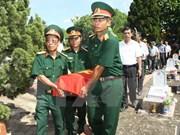 越南继续着重展开烈士遗骸搜寻归宿工作