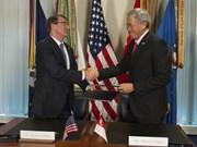 新加坡与美国签订加强防务合作协定