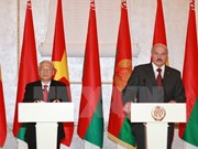 白俄罗斯总统亚历山大·卢卡申科开始对越南进行国事访问