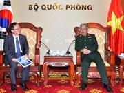 越南与韩国加强扫雷领域的合作