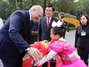 白俄罗斯总统卢卡申科圆满结束对越南进行的国事访问