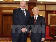 越共中央总书记阮富仲会见白俄罗斯总统卢卡申科