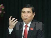 胡志明市委副书记阮成峰当选胡志明市人民委员会主席
