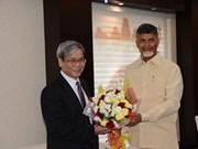 印度安得拉邦希望与越南在多个领域加强合作