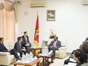 越南国会与莫桑比克议会加强合作