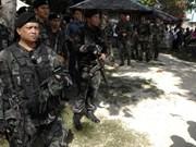 菲律宾政府军在南部击毙13名武装分子