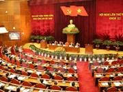 越共第十一届中央委员会第十三次全体会议第二天