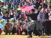 欢乐祥和的奠边省蒙族文化节