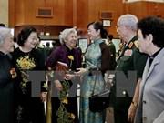 胡志明市与人民军队500多名退休高级干部举行见面会