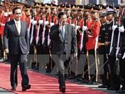 泰柬同意到2020年将双向贸易金额提升至150亿美元