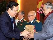 越南国会副主席黄玉山会见首都团老战士