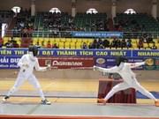2015年越南全国青年击剑锦标赛:河内市击剑队暂居首位