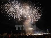 岘港市将举行海滩烟火晚会喜迎2016新年