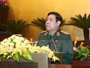 越南高级军事代表团对老挝进行正式友好访问