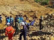 缅甸克钦邦玉石矿区山崩上百人失踪