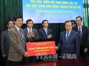 越共中央政治局委员范光毅访问广南省