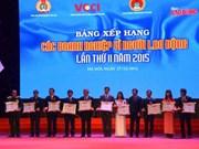 越南49家表彰关心劳动者企业受表彰