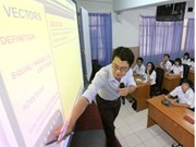 越南教育培训部门主动展开对外合作