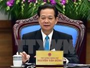 阮晋勇总理:2016年继续着力实现三大战略突破口