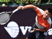 男子网球职业联合会的最新排名:2015年李黄南保持在世界第913位