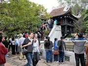 2015年越南接待国际游客量达近800万人次