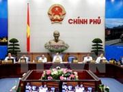 越南政府发布2015年12月份例行会议决议