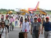 越捷航空推出五万张零越盾起的特价机票庆祝三条新航线开通