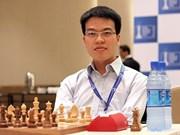 世界国际象棋协会最新排名:黎光廉降至世界第33位