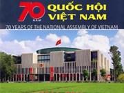 越南国会70周年(1946——2016年)图册举行首发仪式