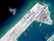 国际舆论对中国在长沙群岛非法建设的机场进行校验试飞表示担忧