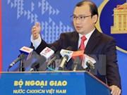 越南外交部发言人:越南重申确保外交工作人员安全
