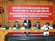 越南政府副总理阮春福:河内市应率先做好打击违法犯罪活动工作