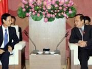 越南国会副主席黄玉山会见老挝客人