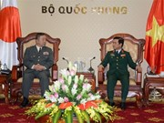 越南与日本陆军加强合作
