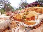 大叻市吸引游客的一处新旅游景点——黏土地道