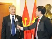 墨西哥劳动党协调员向旅萨卡特卡斯州越南人社群拜年