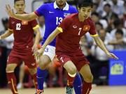 五人制足球友谊赛:越南队5比4力擒马来西亚队