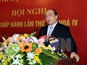 阮春福副总理:构建和实施展开新型合作社模与可持续价值链相结合模式