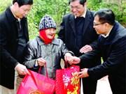 越南各省市力争实现所有人和家庭过好春节的目标