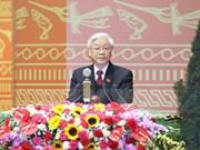 世界各国领导致电祝贺阮富仲再次当选越共中央总书记