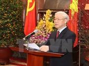越共十二大成功召开是民主、团结、纪律及革新精神的必要结果