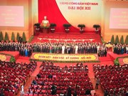 老挝及柬埔寨就纪念越南共产党建党68周年致以贺电